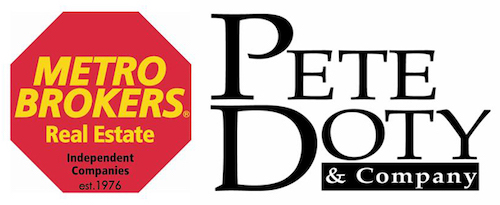 Pete Doty Metro Brokers Real Estate Company Logo