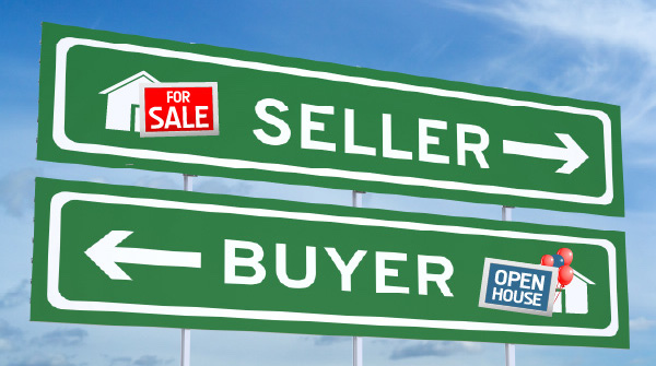 Buyer and Seller Real Estate graphic